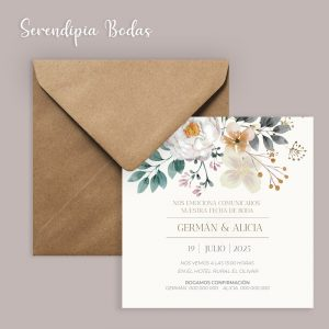 Invitación boda future