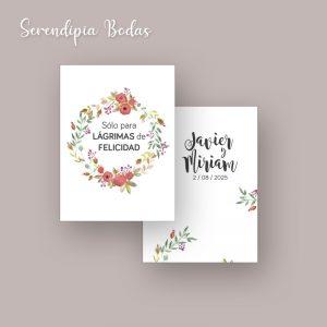 lagrimas de felicidad boda boho floral
