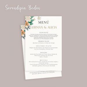 menu boda future