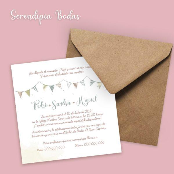 Invitación de boda Celebración